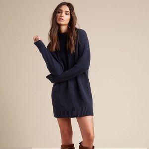 Lovers + Friends Dresses - Lovers Friends Suki Sweater Dress Navy Blue